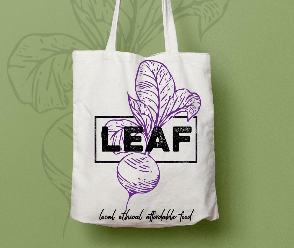 Leaf web