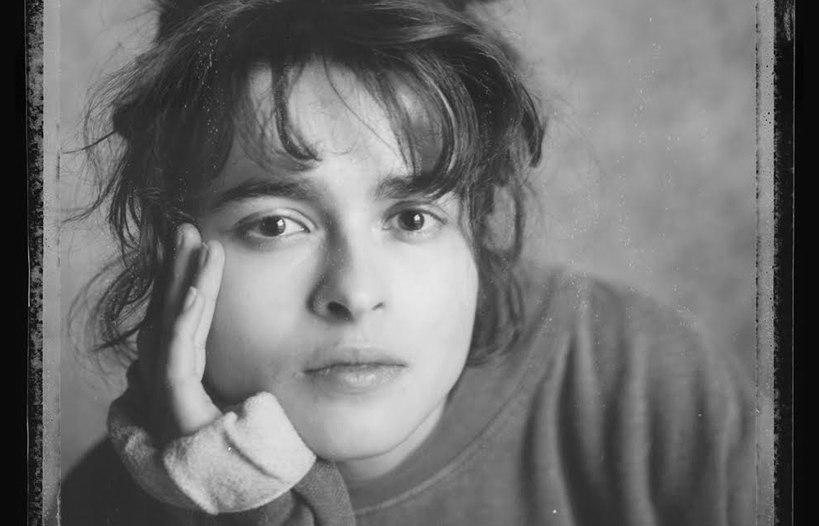 Helena Bonham Carter - Portrait by David Hevey (copyright David Hevey)