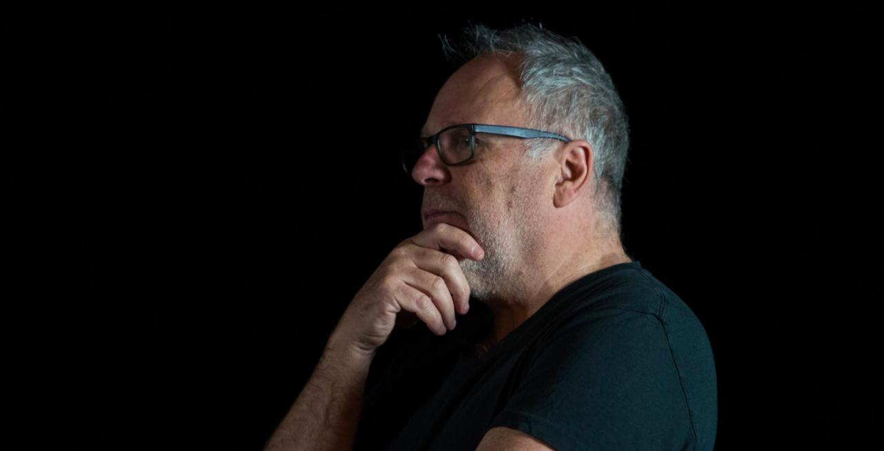 Terry Smith Portrait in Studio