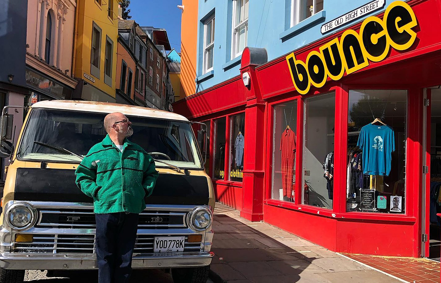 Bounce Vintage located on The Old Hight Street
