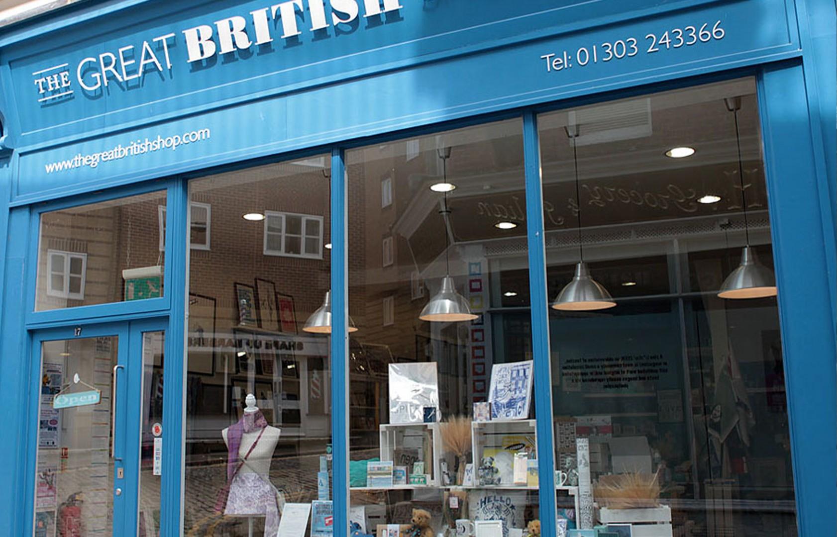 Great British Shop External Facade