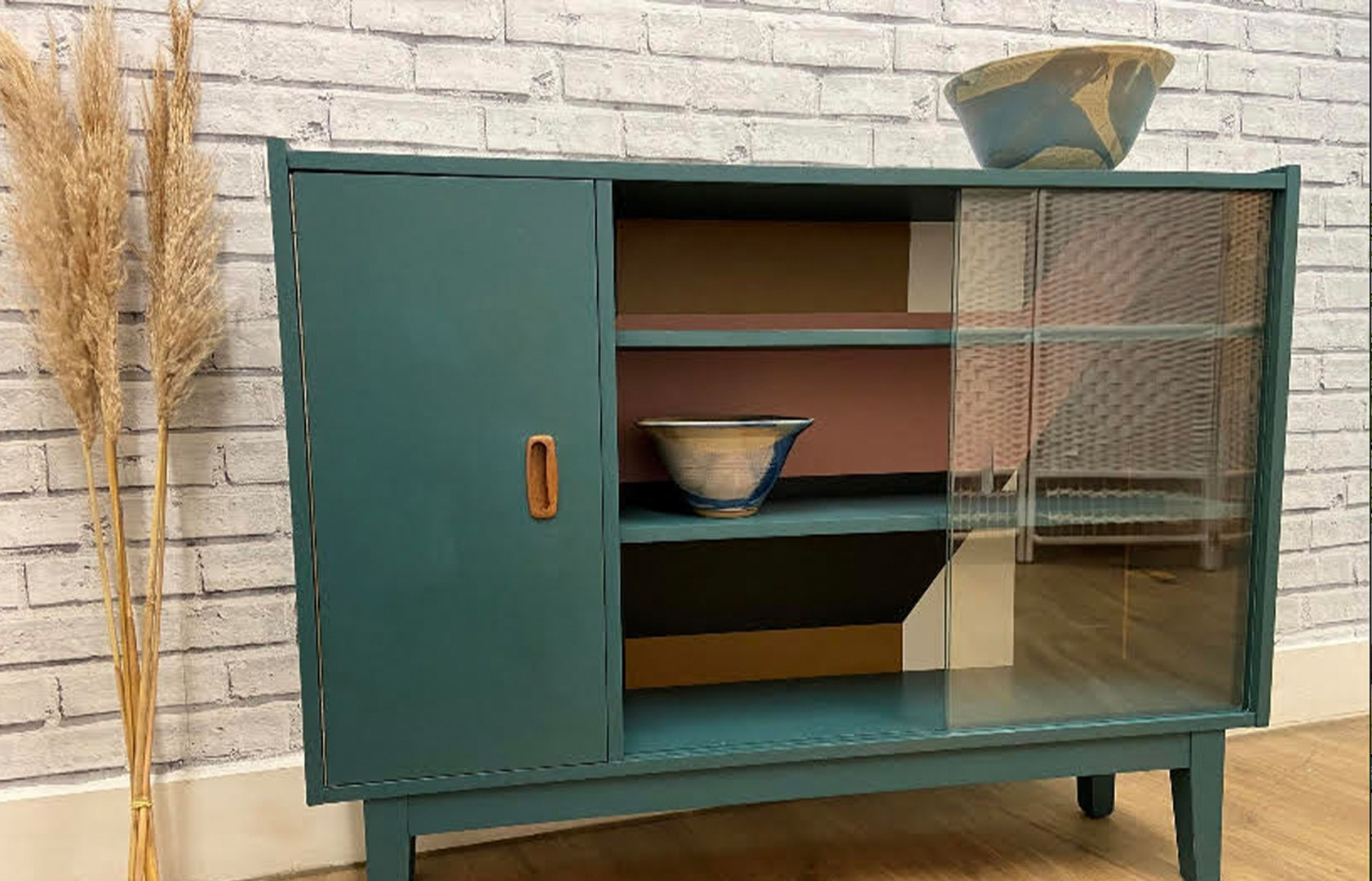 An up-cycled sideboard by The Upcycled Trading Company