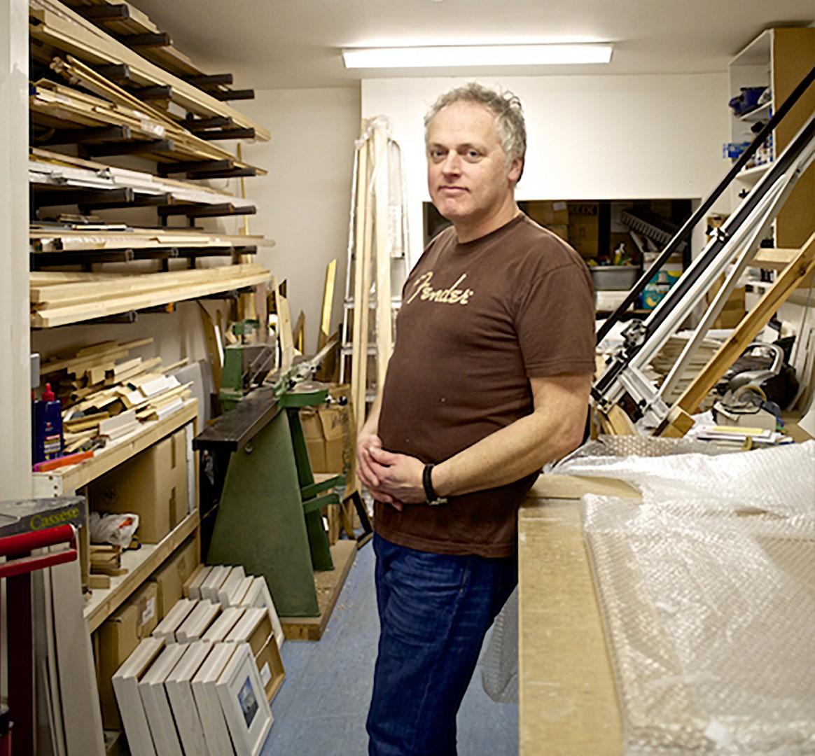 Wayne Reeves Artist and Gallery Founder