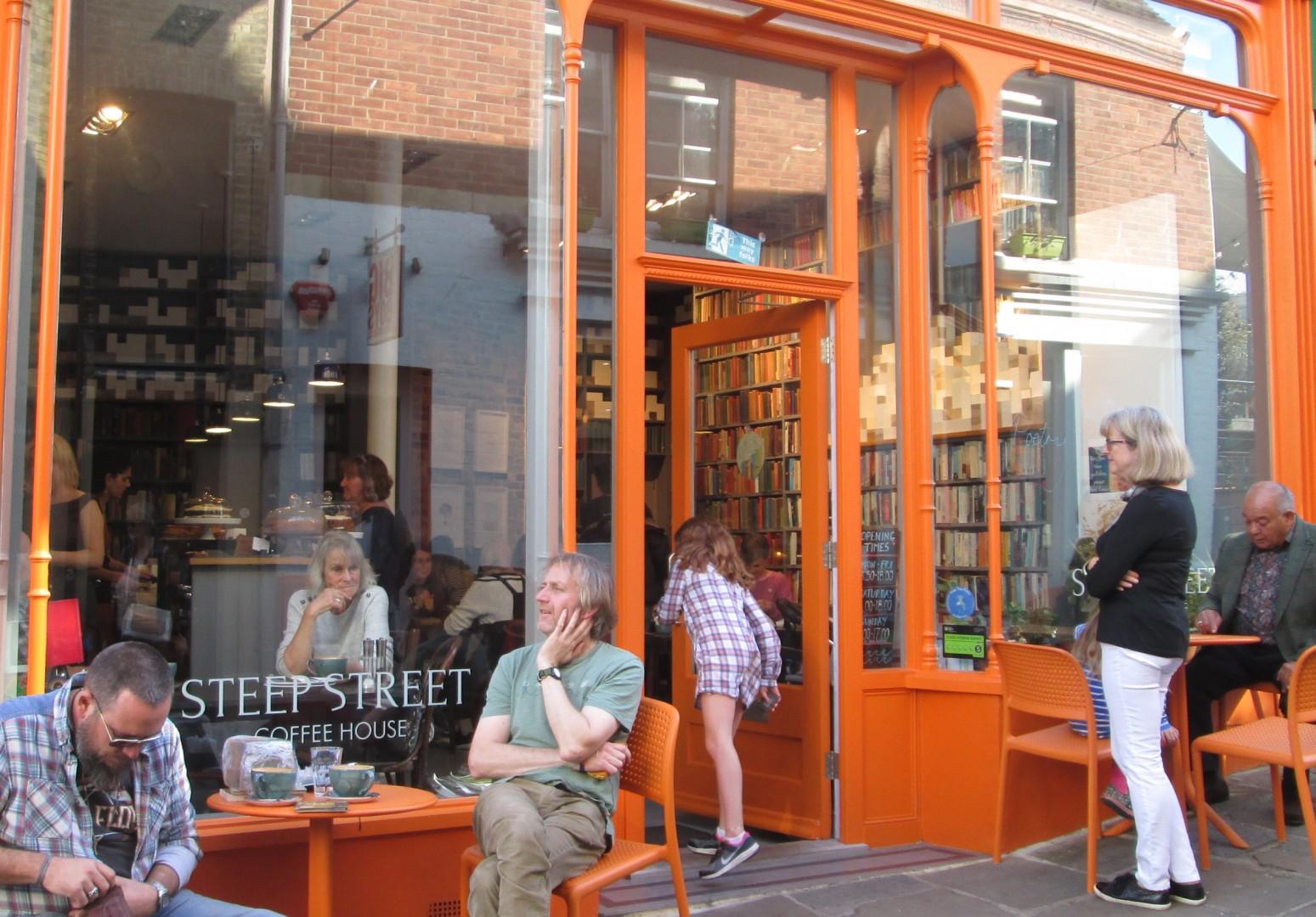 Poets Corner Steep Street  1