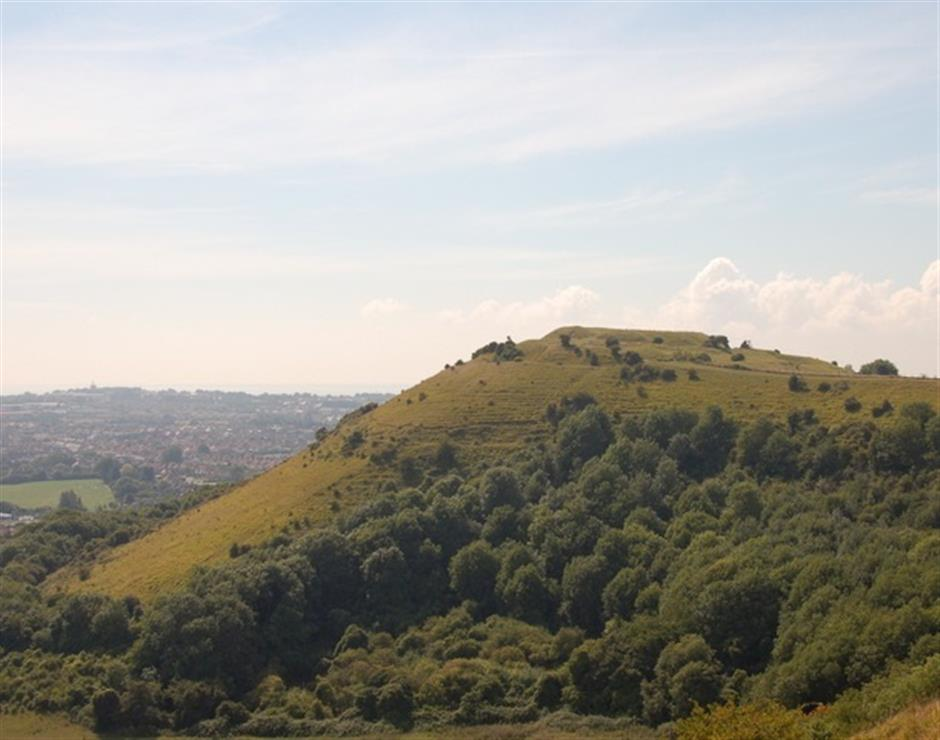 A Scenic Walk Over Folkestone's Three Hills