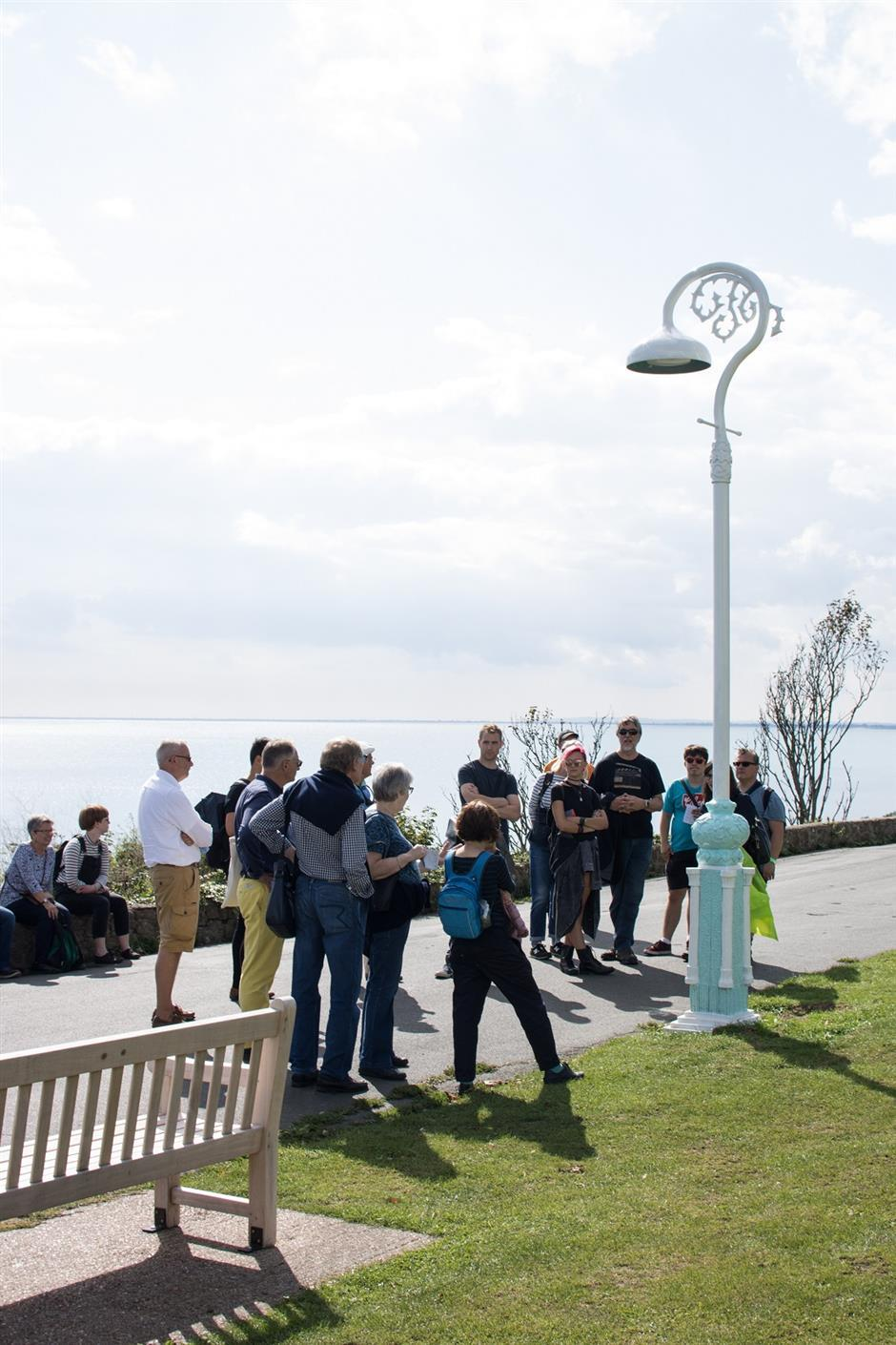 Folkestone Artworks tour led by Naomi Eaton Baudains