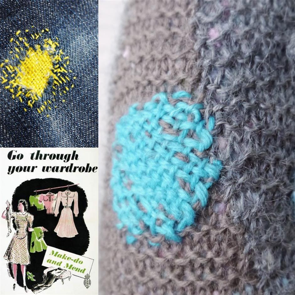 a:dress : Visible mending with Deborah Nash