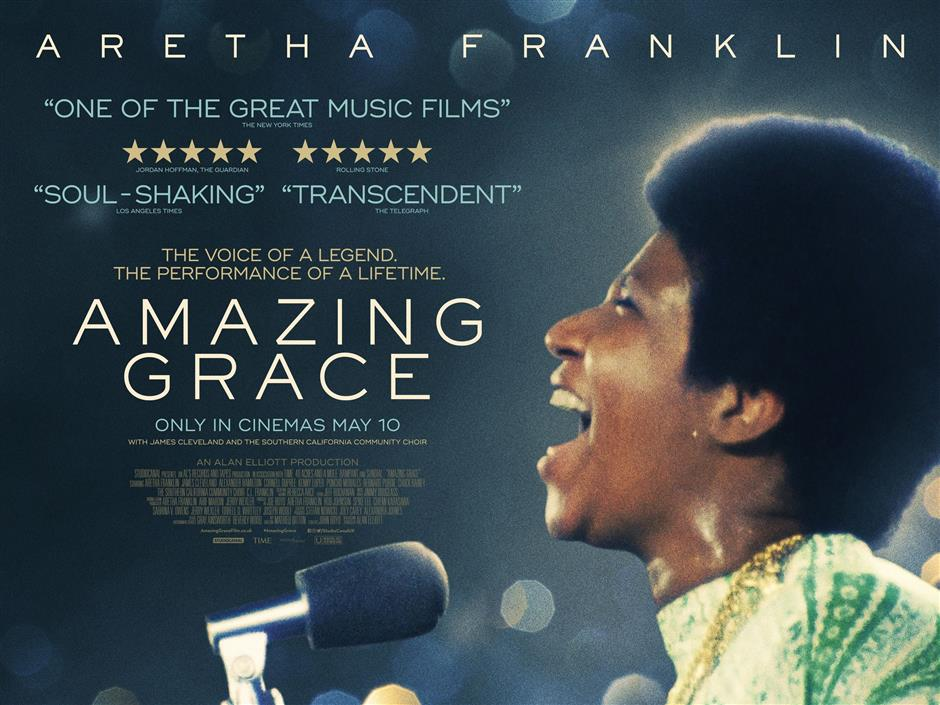 Doc Club: Amazing Grace (U)  + Skype Q&A