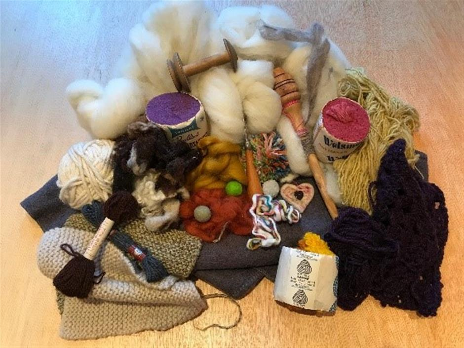 All Things Woolly Workshop with Susan Allen