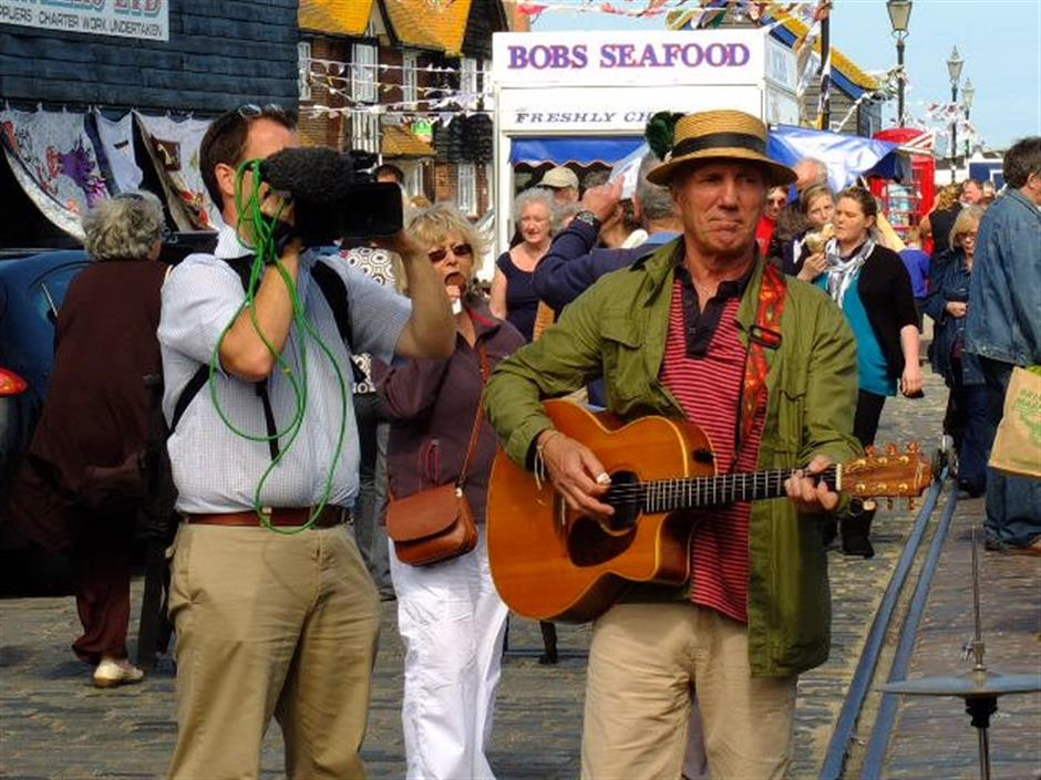 SALT Launch + Folkestone Sea Shanty