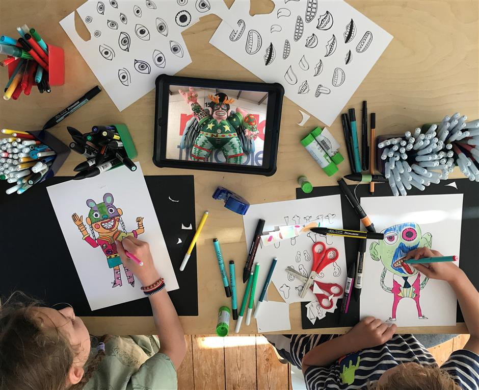 Triennial Family Workshop - The Best in Us with Young Animators