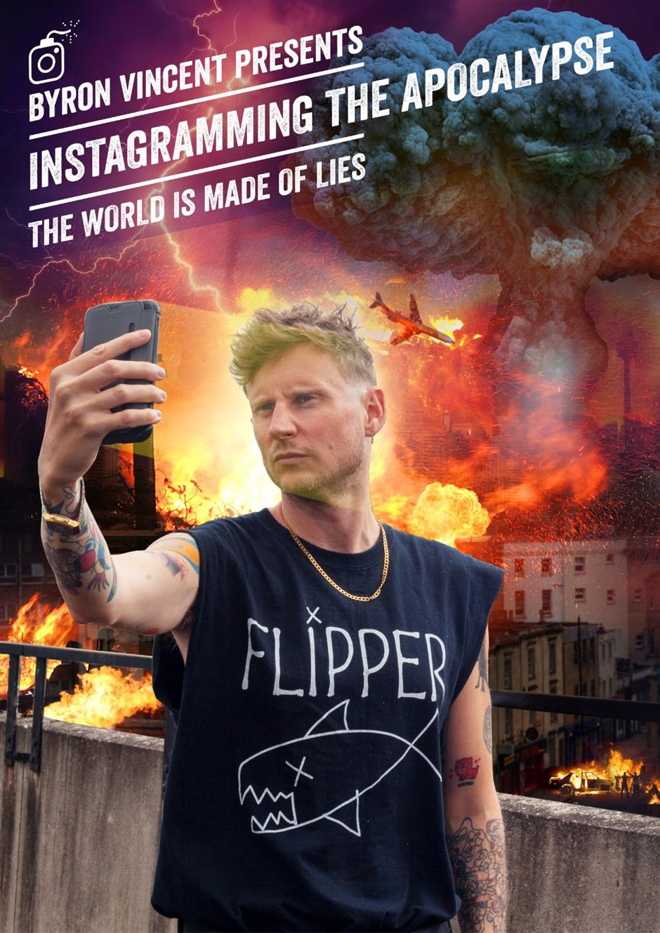 Byron Vincent: Instagramming the Apocalypse