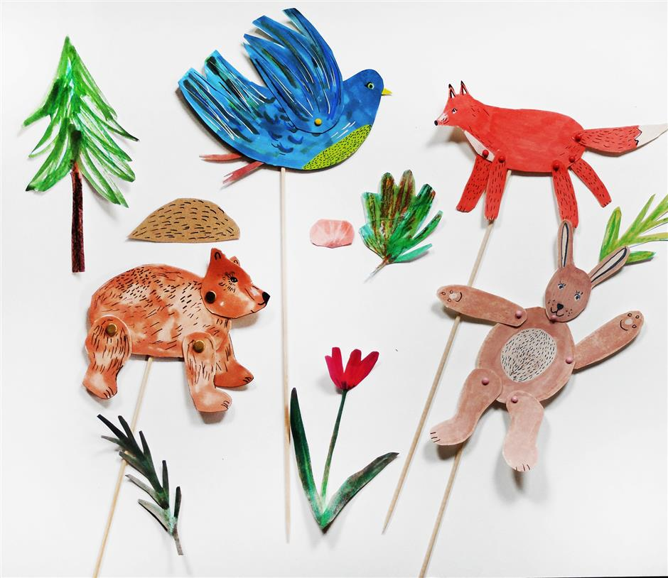 Block 67 Workshop: Woodland Creatures Puppet Making