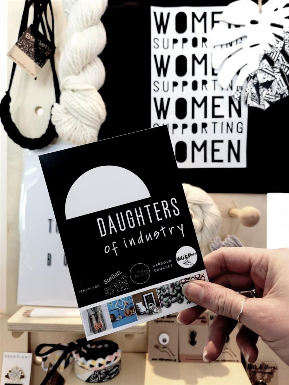 Daughters of Industry Pop Up Shop